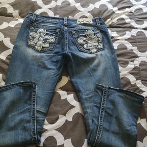 Miss Me Jeans - Miss me distressed jeans